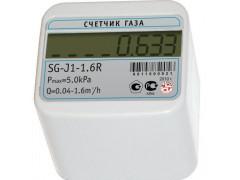Счетчики газа бытовые малогабаритные SG-J1-1,6R
