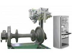 Модули автоматизированные вихретокового контроля колесных пар вагонов НМП мод. НМП-01 и НМП-02