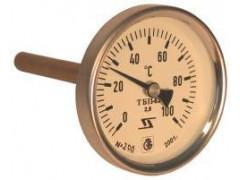 Термометры биметаллические показывающие ТБПю, ТБП