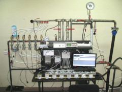 Установки для поверки счетчиков газа УПГС
