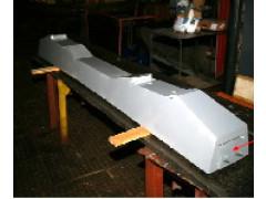 Меры для поверки систем автоматизированного контроля геометрических параметров железобетонных шпал