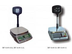 Весы настольные электронные для определения массы и стоимости продуктов ВР 4149