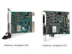 Преобразователи напряжения измерительные аналого-цифровые и цифро-аналоговые модульные NI 7841R, NI 7842R, NI 7851R, NI 7852R, NI 7854R