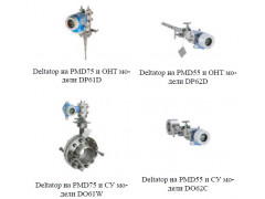 Расходомеры переменного перепада давления Deltatop