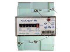 Счетчики активной электрической энергии однофазные однотарифные КАСКАД-101-МТ