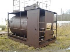 Резервуары стальные горизонтальные для нефтепродуктов РГС