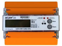 Счетчики электрической энергии трехфазные статические Милур 305