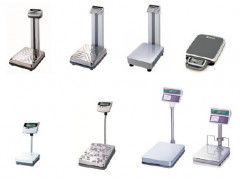 Весы электронные напольные DL, DB-H, ND, BW, EB, PB