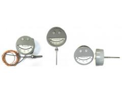 Термометры манометрические конденсационные показывающие сигнализирующие ТКП-160Сг-М3-1