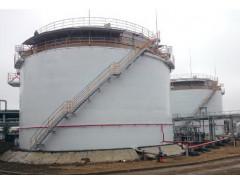 Резервуары стальные вертикальные цилиндрические с защитной стенкой номинальной вместимостью 5000 м3 РВС-5000