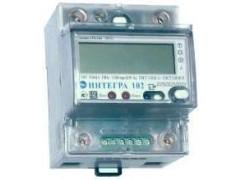 Счетчики электрической энергии статические однофазные с функцией ограничения мощности ИНТЕГРА 102