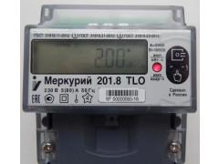 Счетчики электрической энергии статические однофазные Меркурий 201.8ТLO