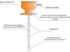 Влагомеры микроволновые поточные МПВ700