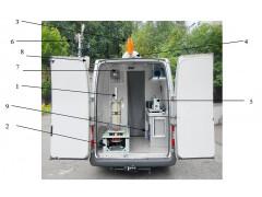 Комплексы радиационной разведки автомобильные МР-43