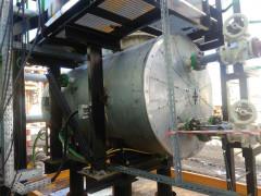 Резервуар стальной горизонтальный цилиндрический теплоизолированный РГС-2,5