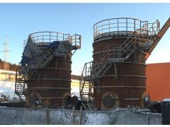 Резервуары стальные вертикальные цилиндрические РВС-100