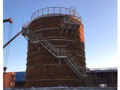 Резервуары стальные вертикальные цилиндрические РВС-1000