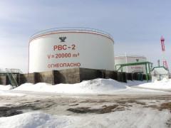 Резервуары стальные вертикальные цилиндрические РВС-20000