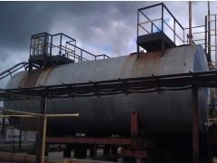 Резервуары стальные горизонтальные цилиндрические РГС-75, РГС-100