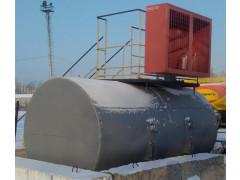 Резервуар стальной горизонтальный цилиндрический РГС-6