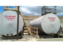 Резервуары стальные горизонтальные цилиндрические РГС-50