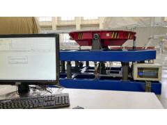 Стенд для измерения массы и координат центра масс СЦМ-3т