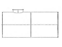 Резервуар стальной горизонтальный РГС-50