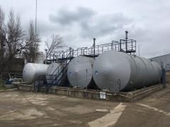 Резервуары горизонтальные стальные цилиндрические РГС-50, РГС-70, РГС-80