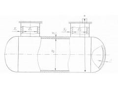 Резервуары горизонтальные стальные цилиндрические РГС-8