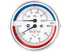 Манометры, вакуумметры и мановакуумметры показывающие деформационные ЭКОМЕРА МД