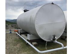 Резервуар стальной горизонтальный цилиндрический РГС-75