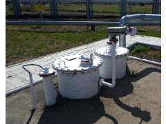 Резервуар горизонтальный стальной цилиндрический РГС-8