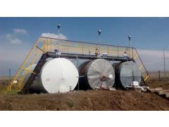 Резервуары горизонтальные стальные цилиндрические РГС-50, РГС-75