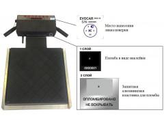 Весы неавтоматического действия передвижные EVOCAR
