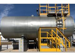 Резервуар стальной горизонтальный цилиндрический РГС-17