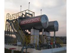 Резервуары горизонтальные стальные цилиндрические РГС-20