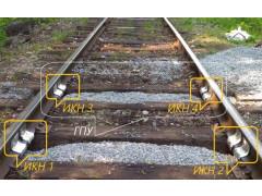 Весы вагонные рельсовые для взвешивания в движении ВРТ-03