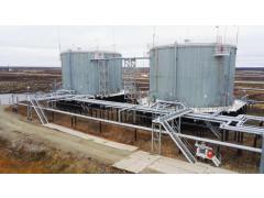 Резервуары стальные вертикальные цилиндрические теплоизолированные РВС-3000