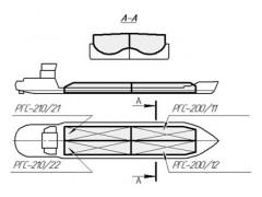 Резервуары (танки) стальные прямоугольные РГС-200, РГС-210