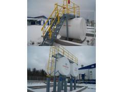 Резервуары стальные горизонтальные цилиндрические РГС-5, РГС-10, РГС-20, РГСД-10, РГСД-20