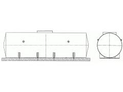Резервуары стальные горизонтальные цилиндрические РГСД-50