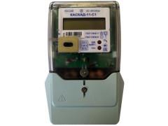 Счетчики электрической энергии однофазные многофункциональные КАСКАД-11