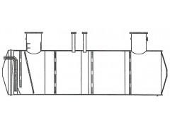 Резервуар стальной горизонтальный цилиндрический РГС-63
