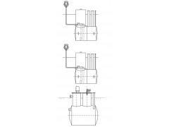 Резервуар горизонтальный стальной цилиндрический РГС-3