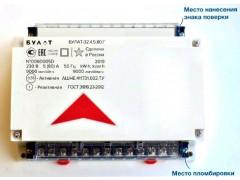 Счетчики электрической энергии статические однофазные интеллектуальные БУЛАТ-32