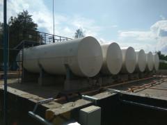 Резервуары стальные горизонтальные цилиндрические РГС-5, РГС-10, РГС-50