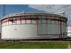 Резервуар стальной вертикальный цилиндрический с понтоном РВСП-50000