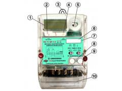 Счетчики электрической энергии однофазные ТЕ71
