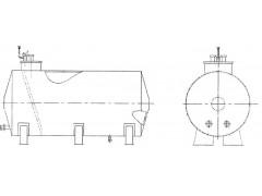 Резервуары стальные горизонтальные цилиндрические РГС-5, РГС-12,5, РГС-25