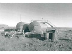 Резервуары горизонтальные стальные цилиндрические РГС-50, РГС-60